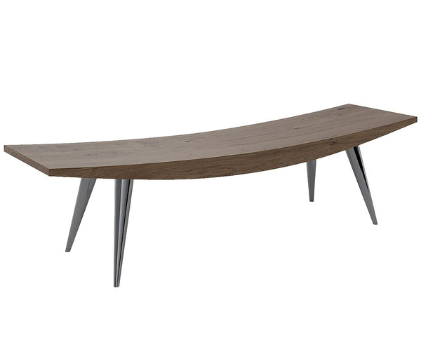 Modern Wood Bench | DSHOP