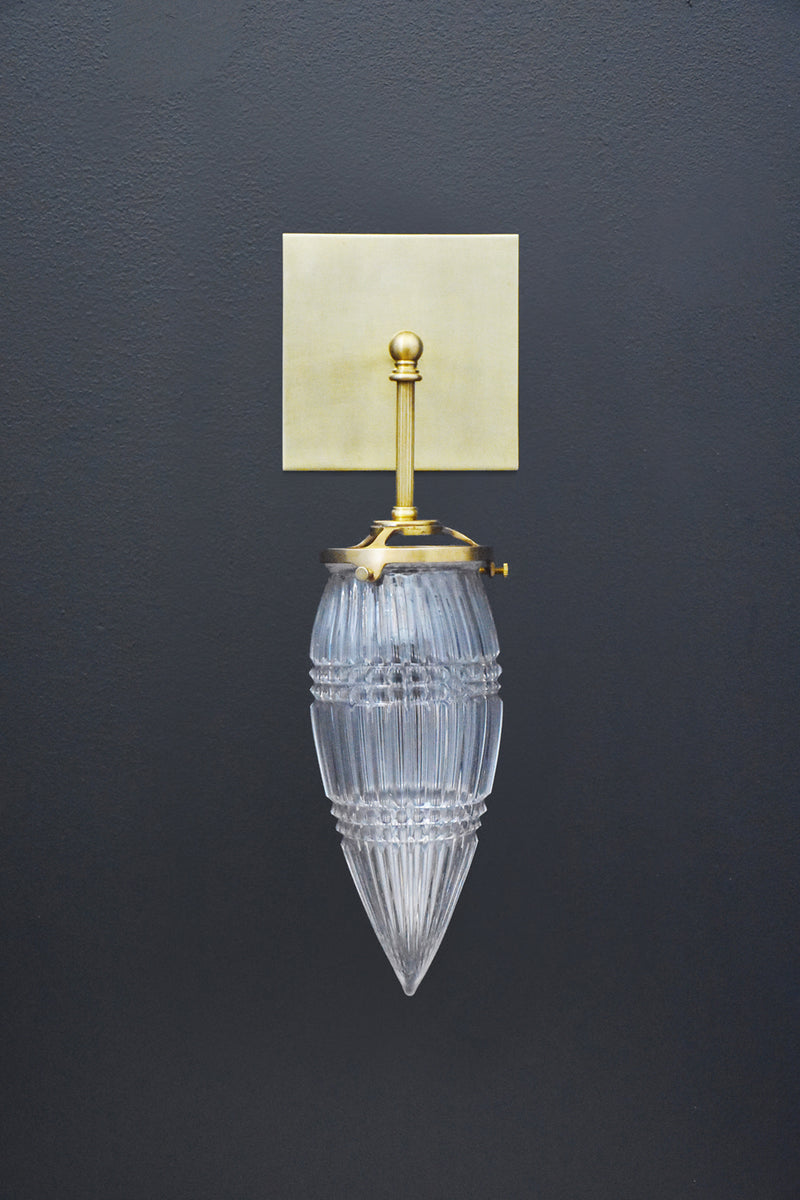 Michelle James Brilliant Glass Drop Sconce | DSHOP