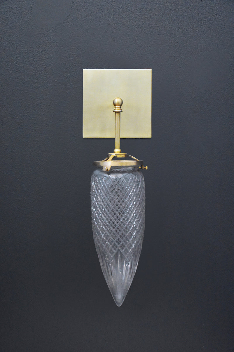 Vintage Glass Drop Sconce | DSHOP