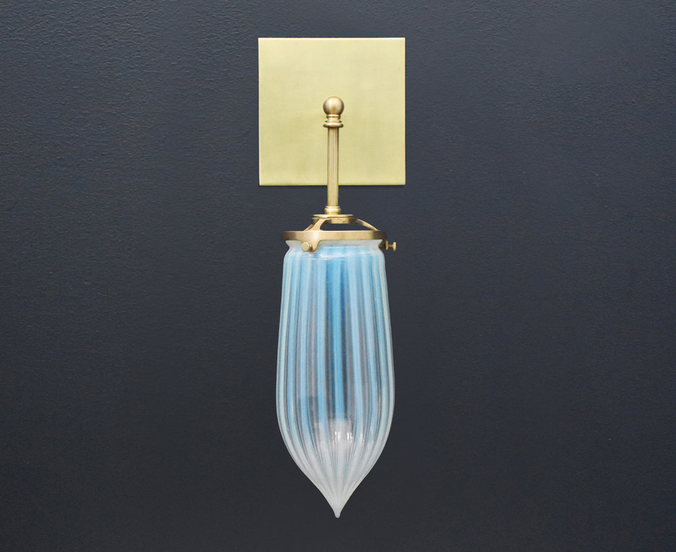 Brilliant Glass Drop Sconce
