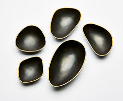 Pebble Bowls - Bronze & Gold | DSHOP