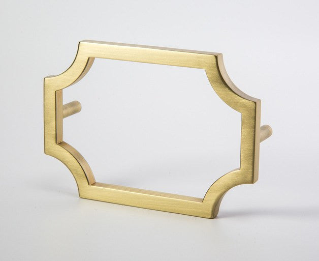 Classic-01 Handle in Satin Brass