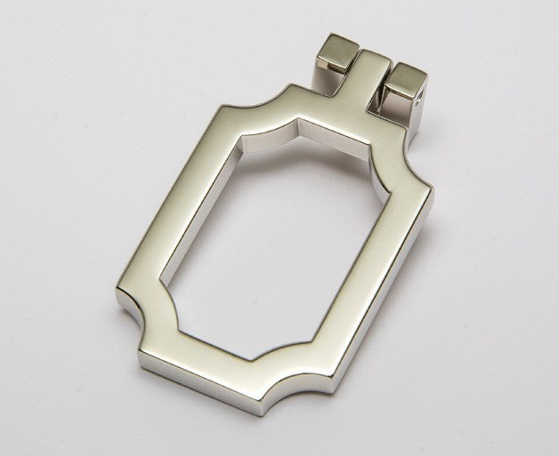 Classic-03 Drop Pull in Polished Nickel