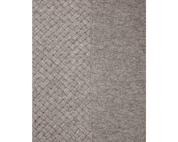 Grey Cashmere Throw | DSHOP