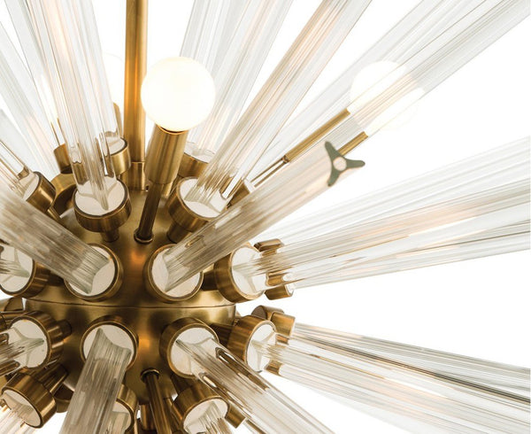 Fluted Glass Chandelier | DSHOP