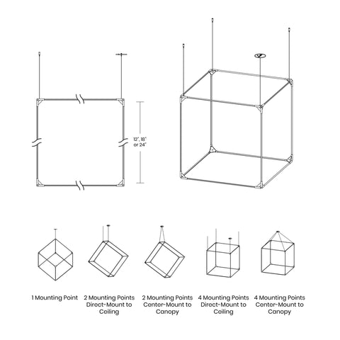 Thin Solids Cube