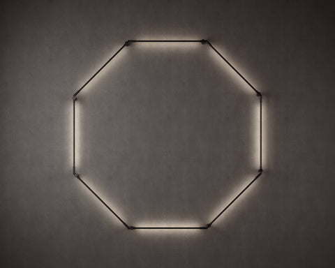Thin Primaries Wall-Mounted Octagon