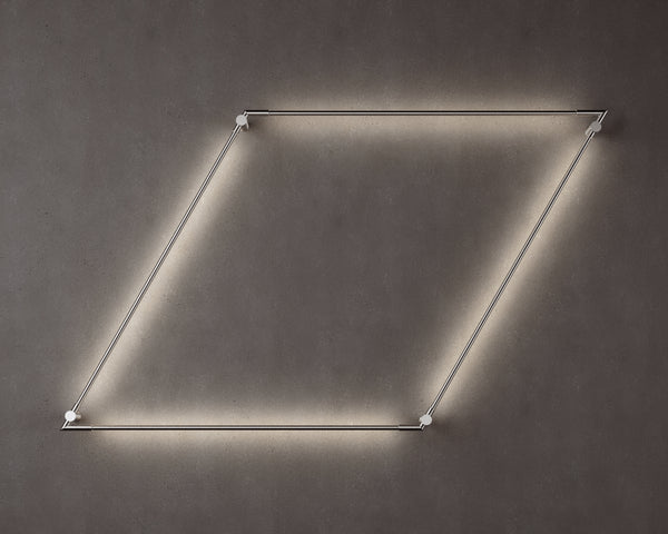 Thin Primaries Wall-Mounted Rhombus | DSHOP