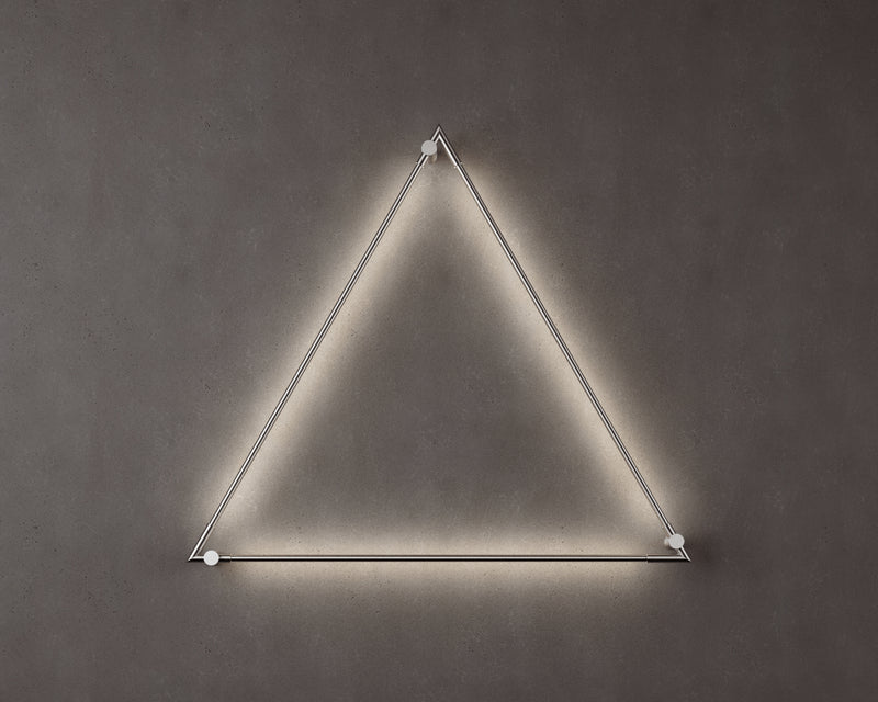 Thin Primaries Wall-Mounted Triangle | DSHOP