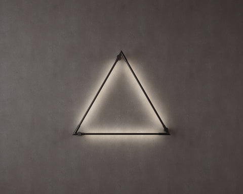 Thin Primaries Wall-Mounted Triangle