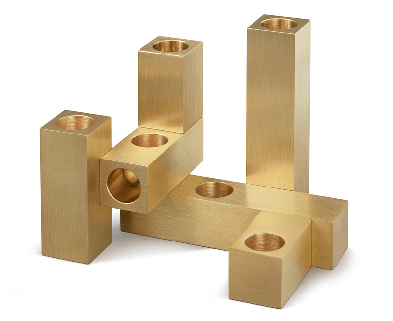 Modular Brass Candle Holders | DSHOP