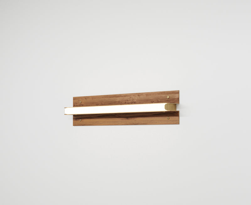 Modern Black Walnut Sconce | DSHOP