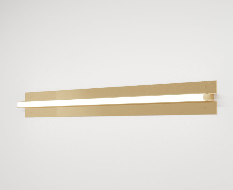 Minimal Brass Wall Lamp | DSHOP