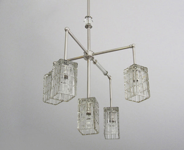 Brilliant Cubed Chandelier - 5 Arm | DSHOP