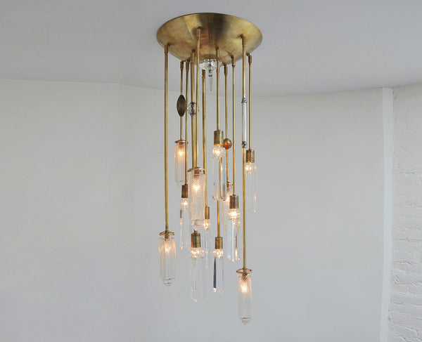 Chrysler Chandelier - Brass - 12 Arm  | DSHOP