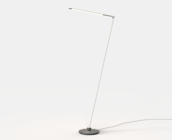 Thin Floor Lamp in Satin Nickel | DSHOP