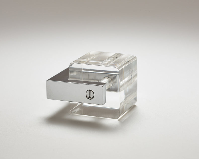 Transparency-12 Hardware Knob in Nickel | DSHOP