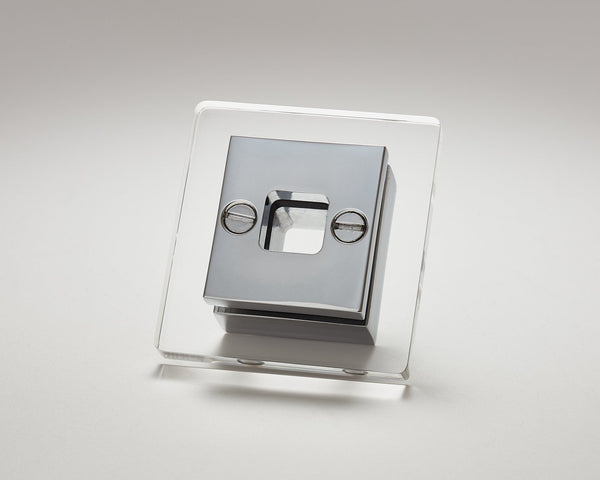 Transparency-13 Knob in Polished Chrome | DSHOP