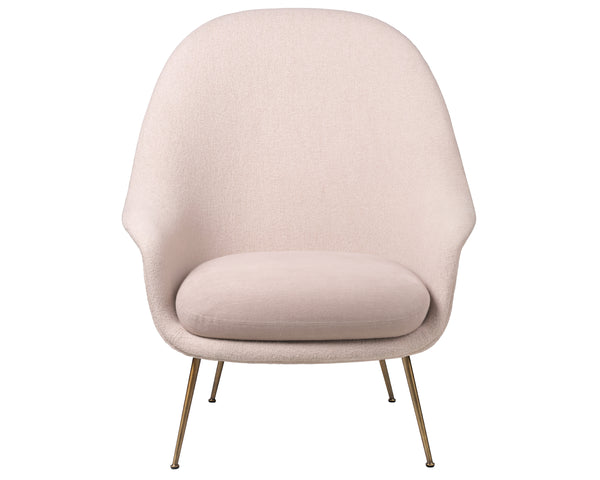 Gubi Bat Lounge Chair High Back - Conic Base | DSHOP