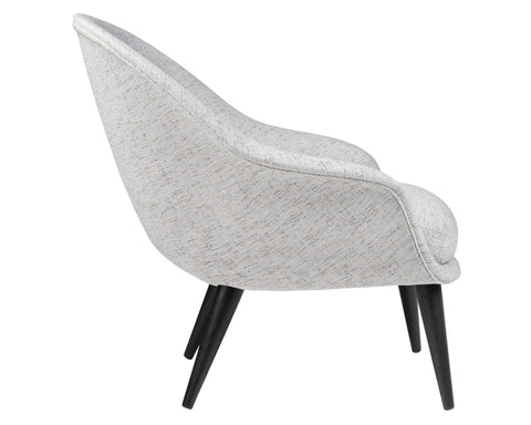 Bat Lounge Chair Low Back - Wood Base