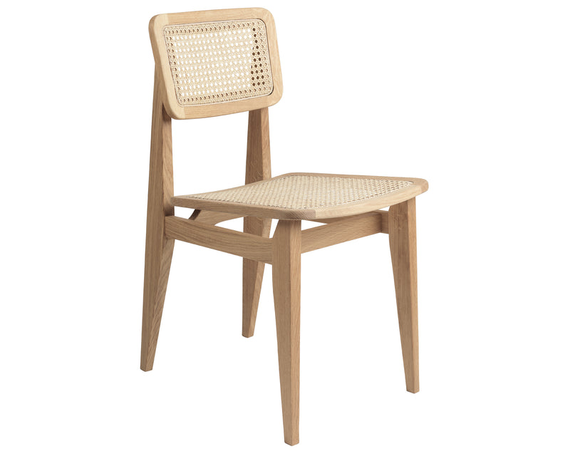 Mid Century Cane Back Chair | DSHOP