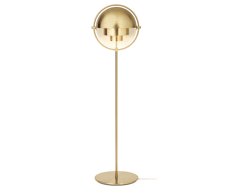 Multi-Light Floor Lamp - Brass Base