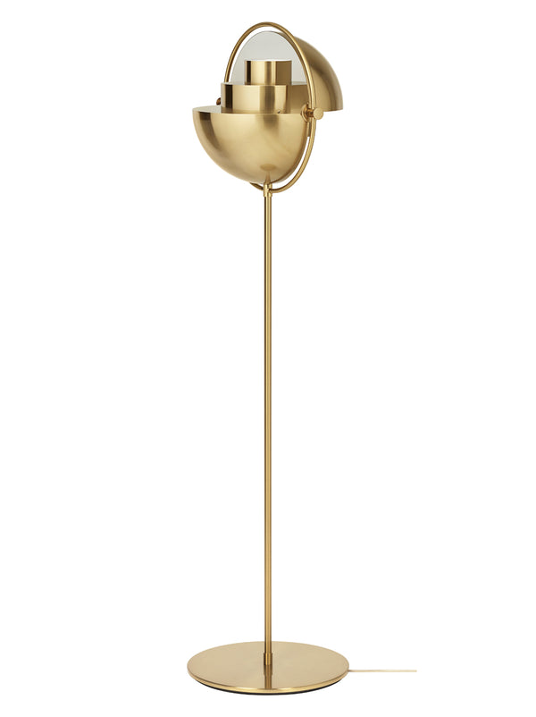 Gubi Multi-Light Floor Lamp - Brass | DSHOP