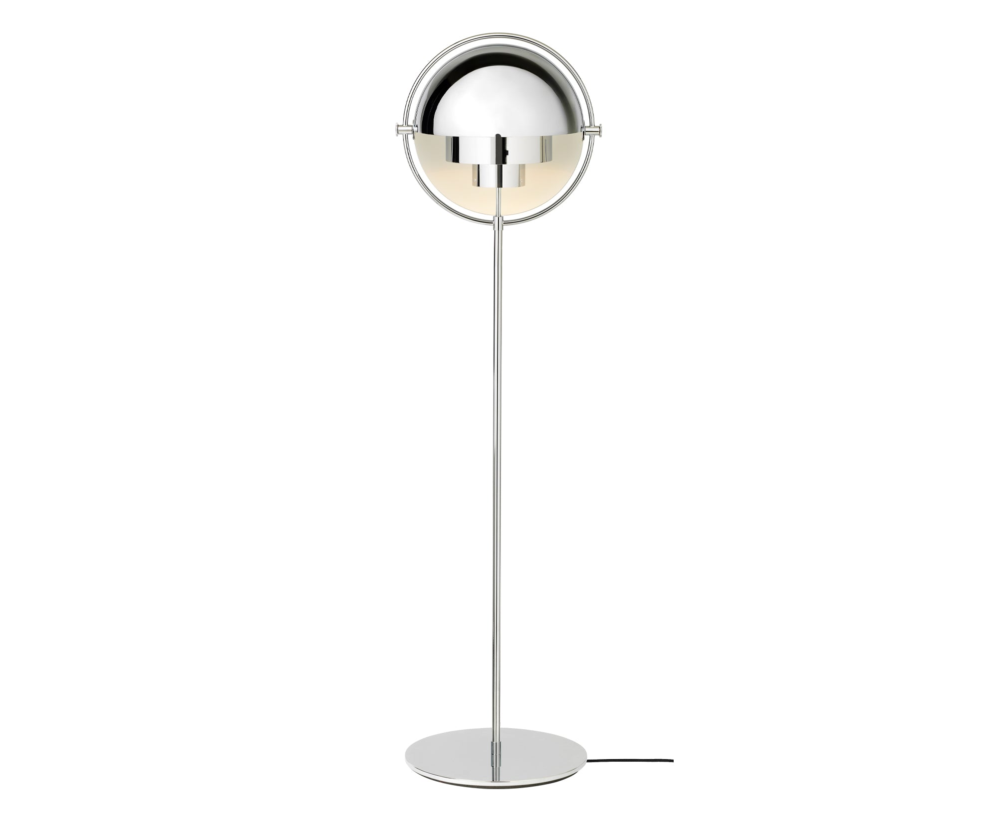 Multi-Light Floor Lamp - Chrome Base