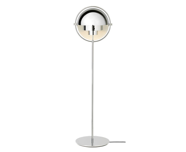 Multi-Light Floor Lamp - Chrome Base | DSHOP