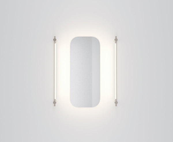 Thin Surface Mount Vanity Light