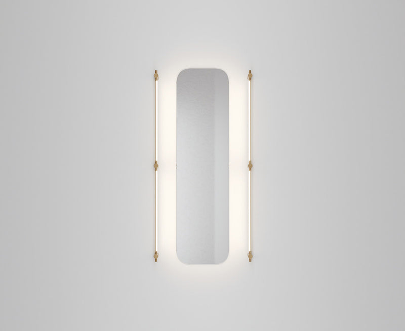 Juniper Thin Surface Mount Vanity Light