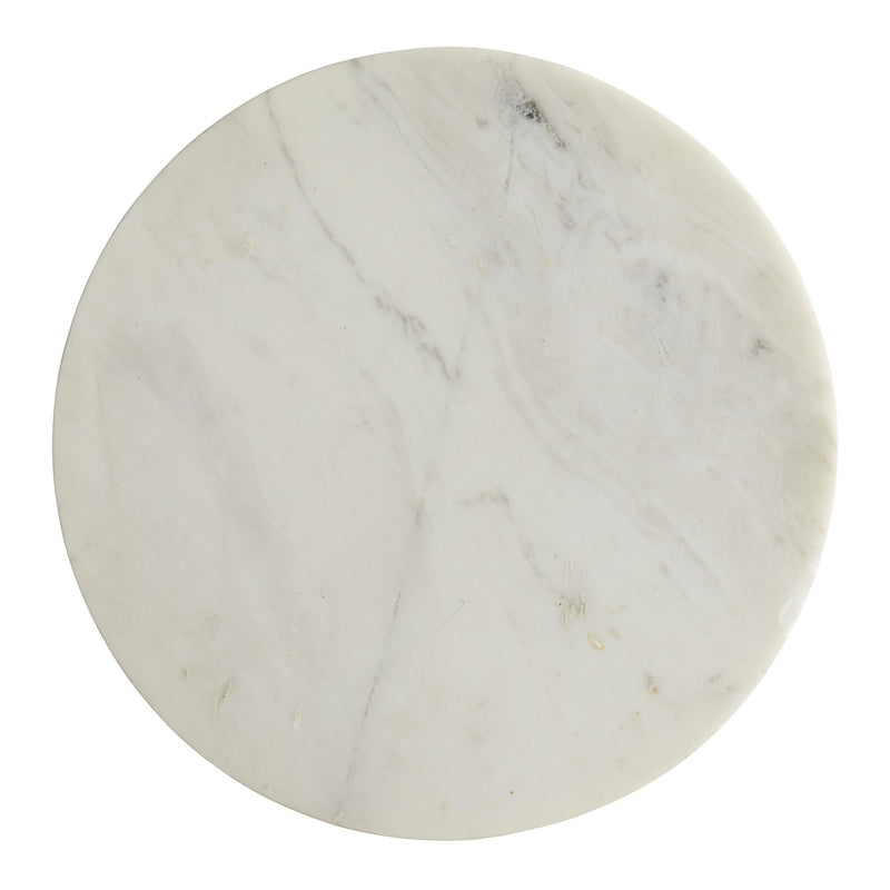 Round Marble Side Table | DSHOP