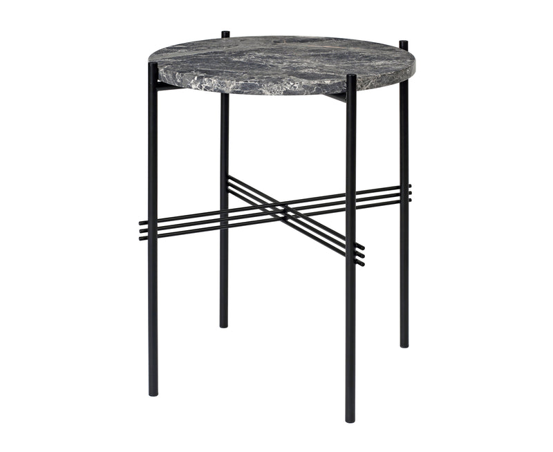 TS Lounge Table Small - Grey Emperador Marble | DSHOP