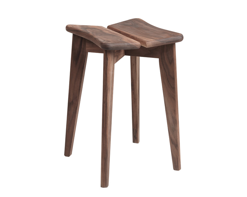 Sculptural Wood Stool | DSHOP