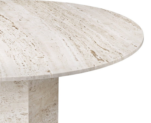 Epic Dining Table in Travertine | DSHOP