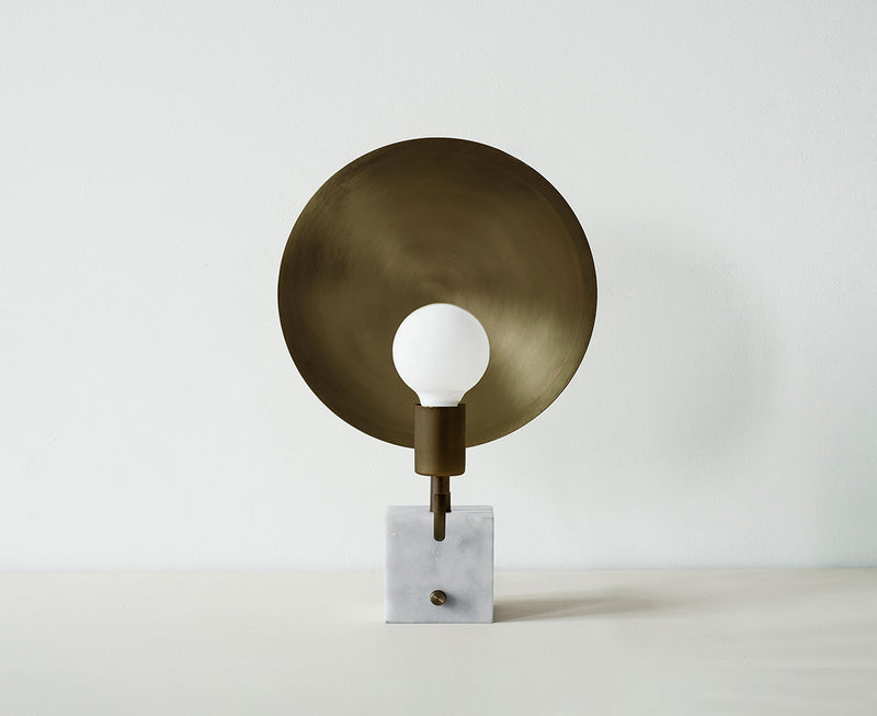 Bronze & Marble Table Lamp | DSHOP