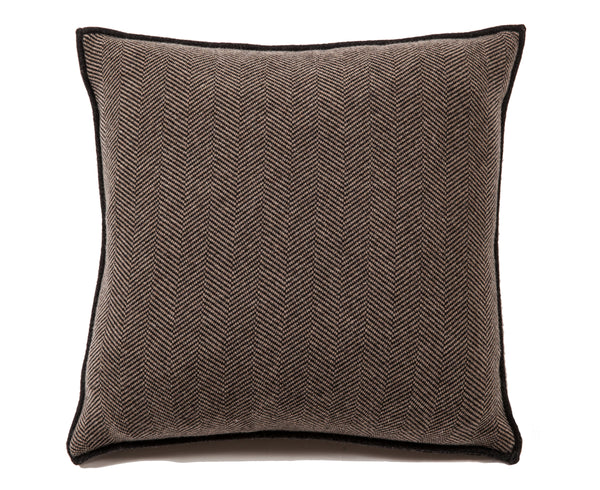 Henry Cashmere Blend Pillow - Anthracite Taupe | DSHOP
