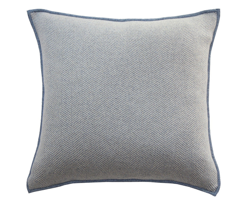 Rani Arabella Henry Cashmere Pillow - Denim | DSHOP