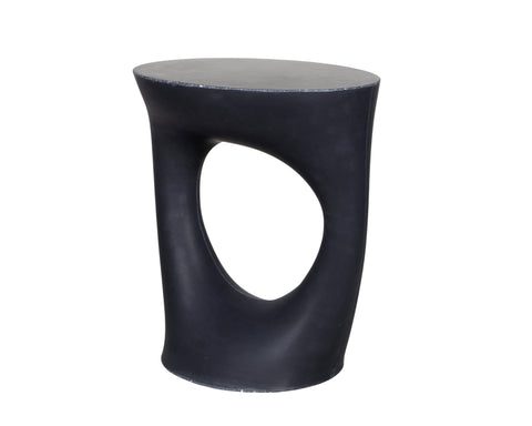 Kreten Side Table - Jet Black