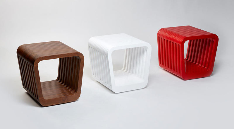Link Stools - White Lacquer | DSHOP