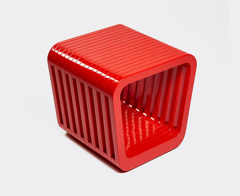 Link Table / Stool - Red Lacquer | DSHOP