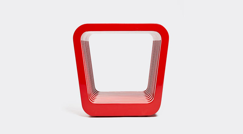 Red Lacquer Stool | DSHOP