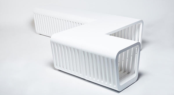 White Lacquered Bench | DSHOP