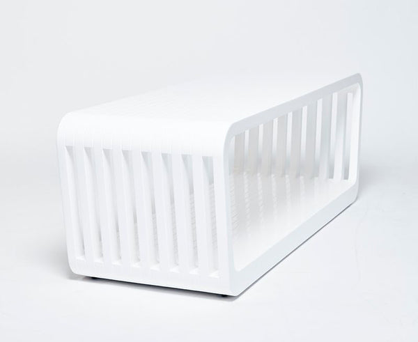 Link Table / Bench Open - White Lacquer | DSHOP