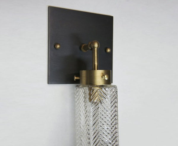 Chrysler Sconce - Square - Mixed