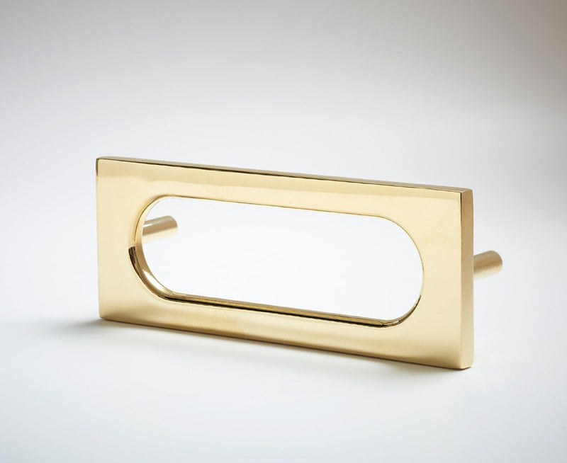 MOD-04S Handle in Polished Brass