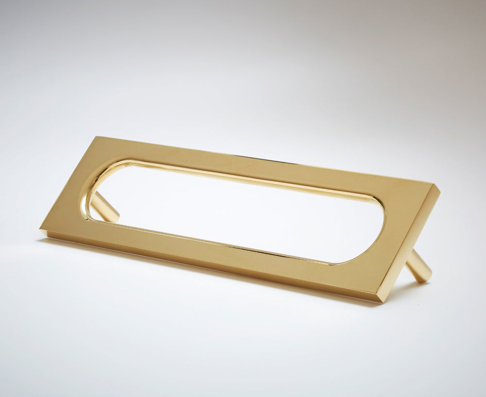 MOD-06S Handle in Polished Brass