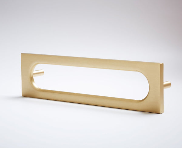 MOD-06S Handle in Satin Brass