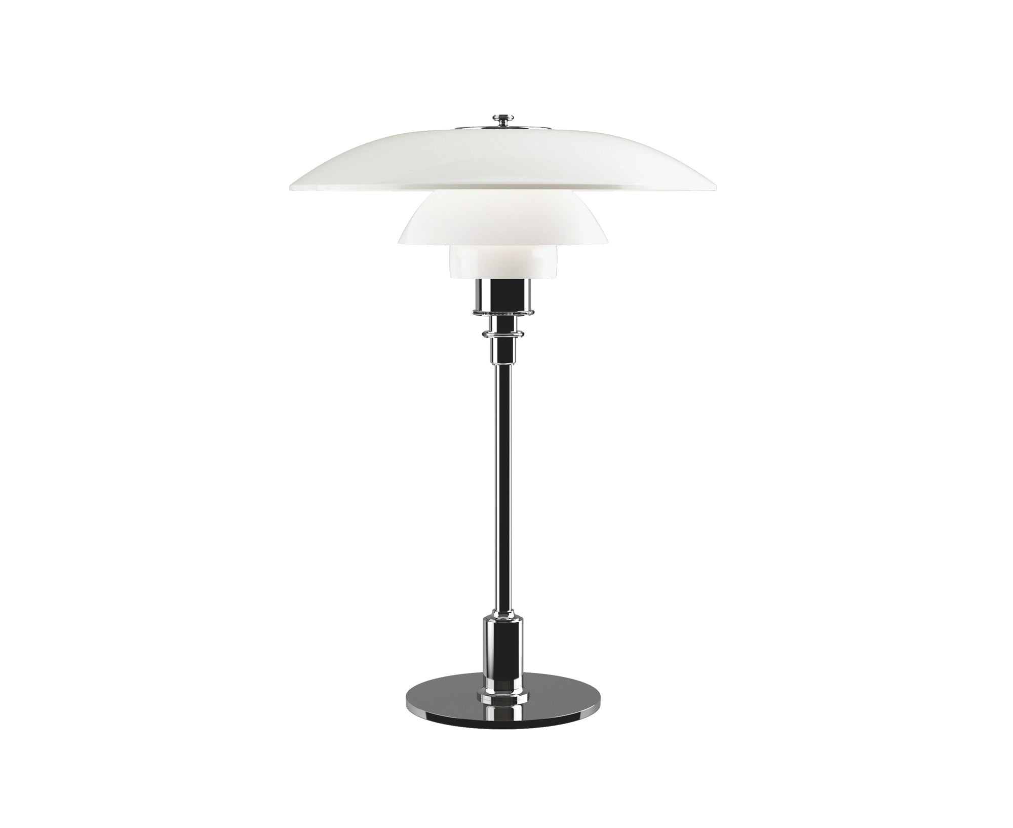 PH 3½-2½ Glass Table Lamp