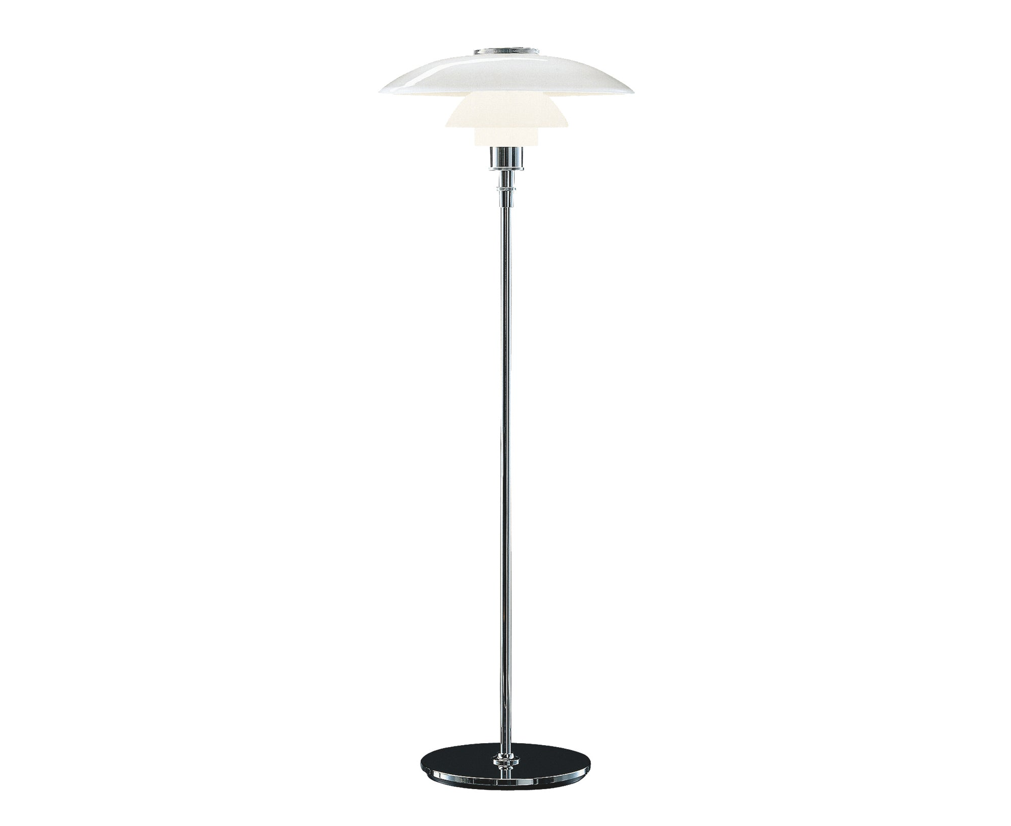 PH 4½-3½ Glass Floor Lamp
